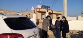 بازدید مدیرکل بنیاد مسکن استان و معاونت بازسازی مسکن روستایی از ستاد بازسازی بخش مرکزی