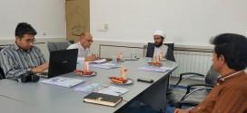 نشست خبری مدیر مجمع القرآن با حضور اصحاب رسانه محلی و کشوری