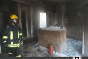مرگ دو کودک بندرعباسی در حادثه آتش سوزی